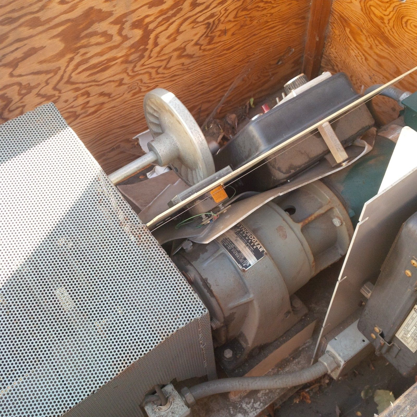 INDUSTRIAL GEARBOX RIG - RELIANCE MOTOR 1725 RPM - DRIVE ALL  - FALK INDUSTRIAL image 7