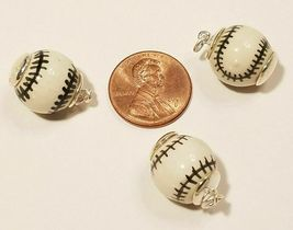 SPORTS THEME STERLING SILVER CHARM .925 - HUGE SELECTION YOU CHOOSE image 4