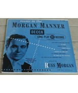 "Vintage 10"" Decca 33 1/3 RPM LP record, Music In The Morgan, EXCELLENT COND - $9.89"