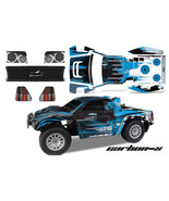 RC Body Graphics Kit Decal Sticker Wrap For Helion Dominus 10SC Truck CA... - $29.65