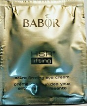 3X BABOR HSR EXTRA FIRMING EYE CREAM -1ML SAMPLES TOTAL 3ML!! WHILE THEY LAST!! - $24.99
