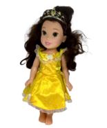 "My First Princess Belle Beauty Beast Disney Doll 14"" Yellow Dress Hair T... - $19.79"