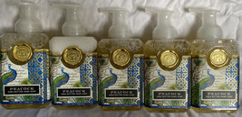 Michel Design Works Shea Butter Foaming Hand Soap Peacock 17.8 Ounces New 5 Pk - $76.99