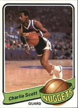 #106 Charlie Scott 1979-80 Topps Basketball - $2.25