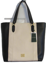 RALPH LAUREN ROBERTSON WOMEN'S HANDBAG 100%GENUINE LEATHER SOLID IVORY T... - $344.90