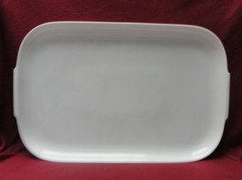 "ROSENTHAL China - HELENA Pattern (all white) - 18"" SERVING PLATTER - $48.95"