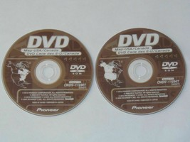 Pioneer Disc East/ West CNDV-110MT AVIC N1 N5 D1 D2 D3 2012 Navigation D... - $24.98+