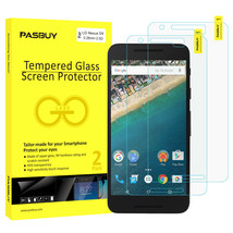 Screen Protector [2Pack PASBUY Retailbox] Tempered Glass for LG Nexus 5X - $5.83