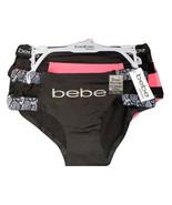 Bebe ~ Womens Boy Legs Underwear Panties Polyester Blend 3-Pair No Panty... - $18.70