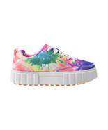 Fila Sandblast Low Tie Dye Women's Shoes Multi Color-White 5CM00970-775 - $60.20