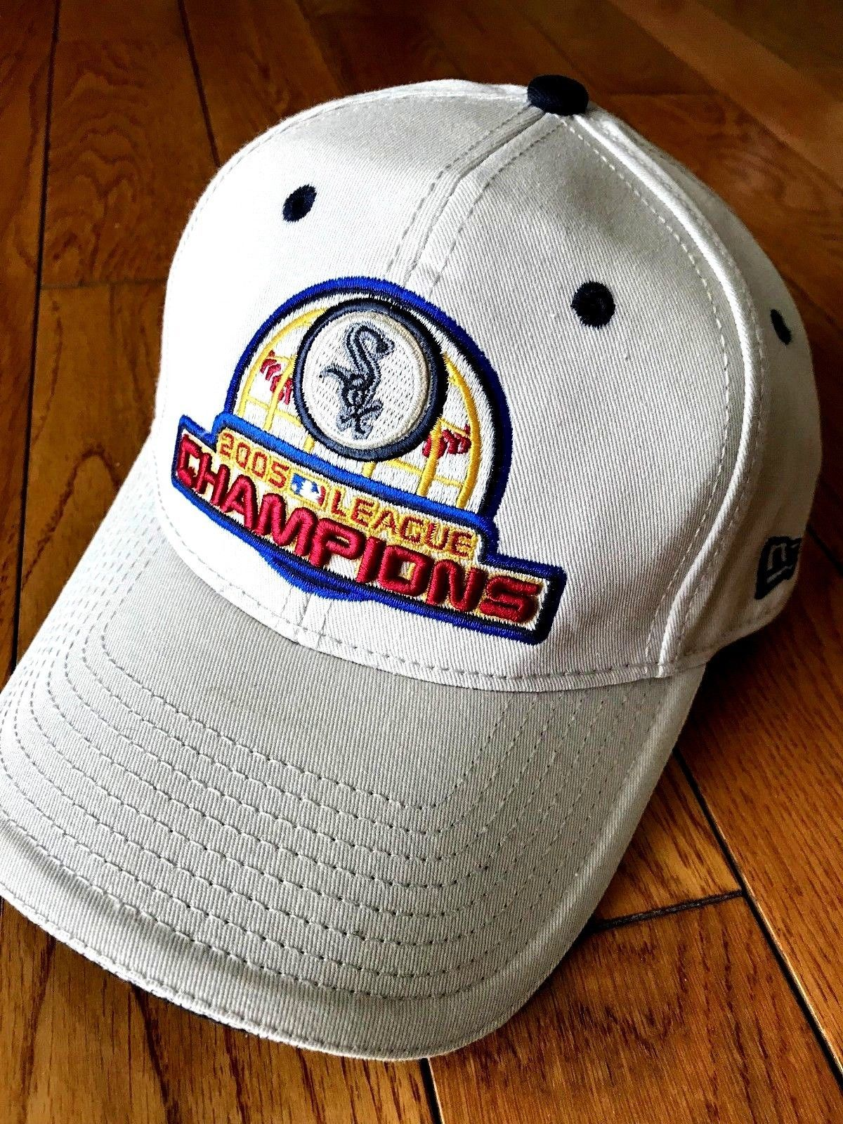 timeless design be2b1 f011a S l1600. S l1600. Previous. NEW ERA Chicago White Sox 2005 ALCS Champions Baseball  Hat Cap One Size