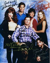 MARRIED WITH CHILDREN 8X10 PHOTO TV PICTURE CAST PP SIGNATURES - $6.92