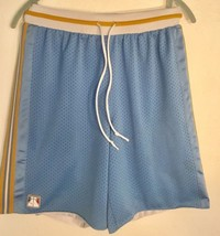 Vintage NIKE Supreme Court Basketball Shorts Mens Sz S Classic Hoops Blu... - $18.49