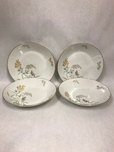 4 pc Rosenthal Sommerbluten Summer Blossoms 52  soup bowl 9 inch plate dish - $49.49