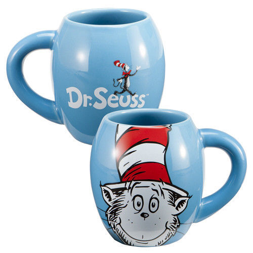 Primary image for Dr. Seuss The Cat In The Hat Figure 18 oz. Ceramic Mug NEW UNUSED