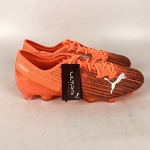 Puma Ultra 2.1 Fg Ag Soccer Cleats Mens Size 13 Orange 106080 01 - $68.31