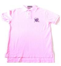 Uomo Ralph Lauren Rosa Acceso Polo Maglietta su Misura S - $93.28