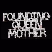Queen Brooch / vintage Rhinestone pin / Drag Queen / founding queen moth... - $145.00