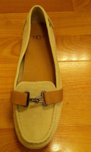 UGG AVEN 1010100 Antique White Slip on Ugg Shoes Women SZ-7 - $1.070,46 MXN