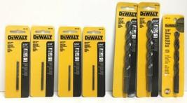 """(New) Dewalt Black Oxide Drill Bits Set 15/32"""", 3/32"""", 5/64"""", 3/8"""" Twist Drill - $45.53"""