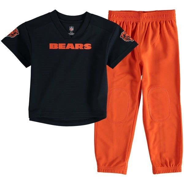 Chicago Bears Infant Lil' Field Pant Set NFL Jersey Pants 2 Piece Boy's Baby