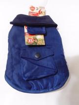 Pet Central Blue Winter Pocket Pet Dog Jacket-Extra Small XS-NWT - $8.45