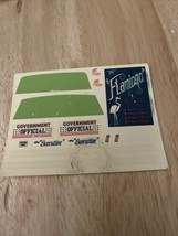 Amt 6415 #28 1965 Lincoln Continental Annual Kit 1/25 Decal Sheet-needs Tlc - $5.94