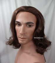 Jesus Wig .. NEW VERSION .. Biblical, Hair, Rocker, Beauty and the Beast... - $34.96