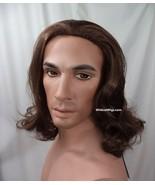 Jesus Wig .. NEW VERSION .. Biblical, Hair, Rocker, Beauty and the Beast... - $34.96