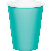 Teal Lagoon 9 Oz. Paper Cup/Case of 240 - $50.94