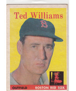 1959 Topps 1 Ted Williams Not Graded - $164.84