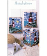 Plastic Canvas Lighthouse Tissue Air Freshener Cover Magnets Wall Decor ... - $10.99