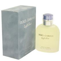 Light Blue by Dolce & Gabbana Eau De Toilette Spray 4.2 oz (Men) - $55.40