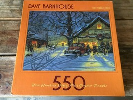 Ceaco VINTAGE Dave Barnhouse The Perfect Tree 550 Piece Jigsaw Puzzle - $14.85