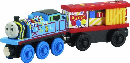 Thomas And Friends Wooden Railway - Happy Birthday Thomas And Box Car