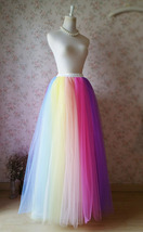 Adult RAINBOW TUTU Skirt Rainbow Party Costume Fancy Tutu Petticoat Any ... - $55.98