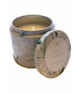 Pier 1 Candle White Jasmine Single Wick 6.8 oz Discontinued Fave! - $14.84