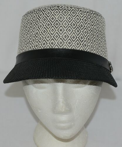 Howard's Brand Arianna Collection 89025 Women's Black And Cream Color Cloche Hat