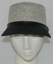 Howard's Brand Arianna Collection 89025 Women's Black And Cream Color Cloche Hat image 1