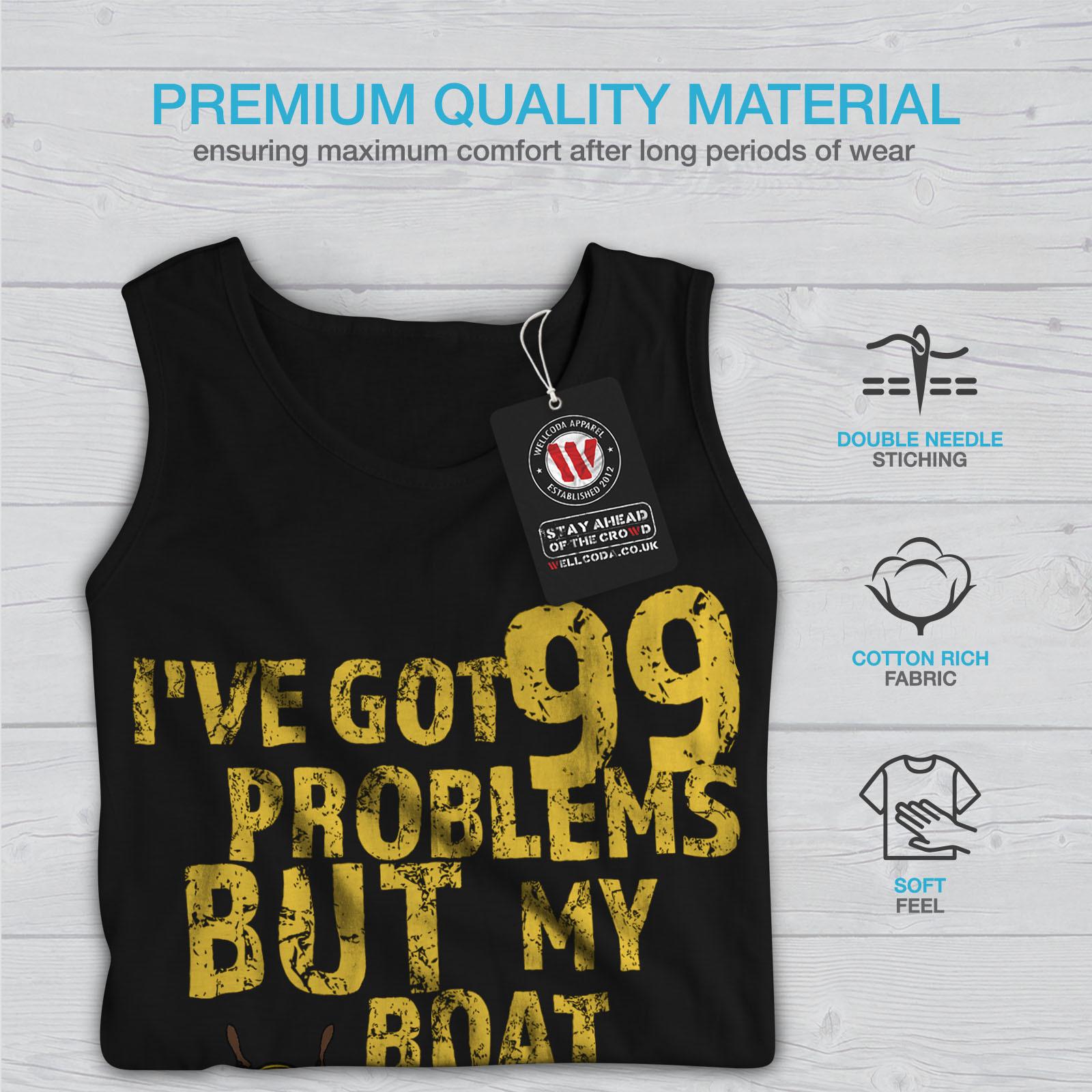 99 Problems Boat Tee Sailor Women Tank Top