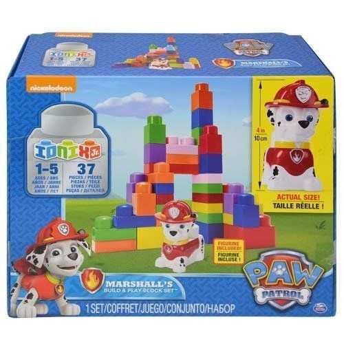 Paw Patrol Marshall's Build and Play Block Set [New] Children's Toy