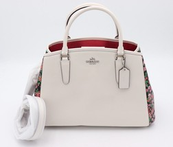 NWT Coach Margot Posey Cluster Floral Print Carryall Convertible Bag 576... - $245.00