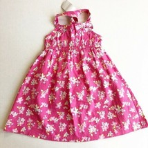 NWT Gymboree Girls Summer Floral Dress Twist Back Empire Waist Sleevless 2T - $14.49