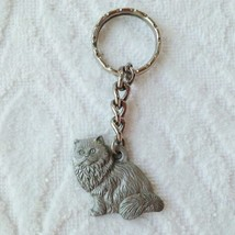 Rawcliffe Pewter  I Heart Love My Himalayan Key Chain Pendant Cat 1984 - $4.99