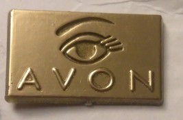 Brooch / Pin -   Signed Avon - Gold tone with eye - brick of gold!!! eye - $4.00
