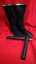 Michelangelo Ninja Shoes Boots & Nunchucks Set Halloween Costume Nunchuc... - $41.88