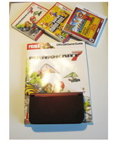 Red Nintendo New 3ds XL w  Mario Kart  & More! - $364.99