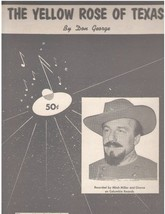 The Yellow Rose of Texas [Sheet music] [Jan 01, 1955] Don George - $12.89