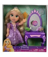 "NEW SEALED Jakks Disney 14"" Rapunzel Doll with Vanity Target Exclusive - $59.39"