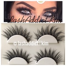 Extra WSP 3D Mink Lashes Eyelashes Luxy New Makeup Fur 3 Pairs • USA SELLER - $8.99